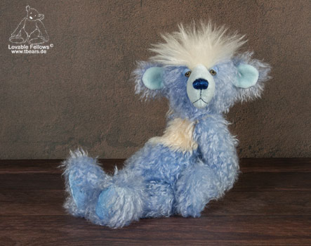 whimsical artist bear by Karin Jehle