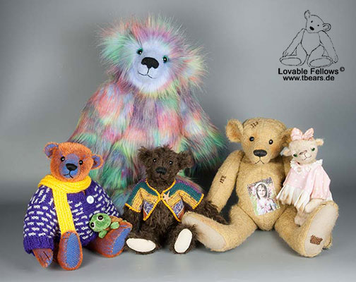 artist bears by Karin Jehle