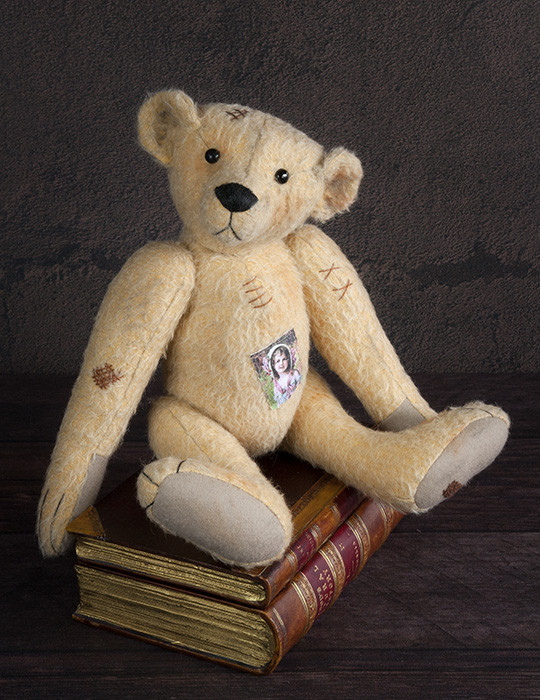 antique style bear
