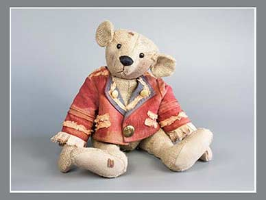 vintage style teddy by artist Karin Jehle